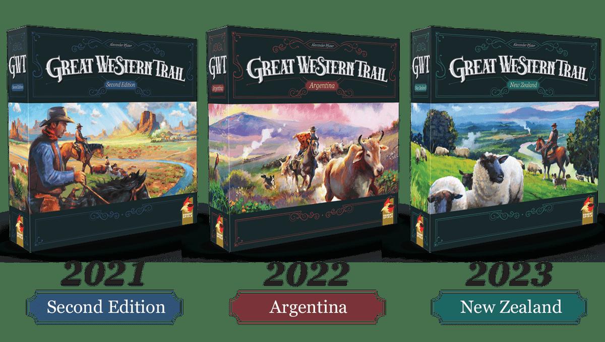 Saga Great Western trail