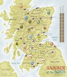 My submission to the Hammer of the Scots map board redesign