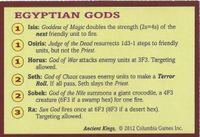Spells of the Greek gods.