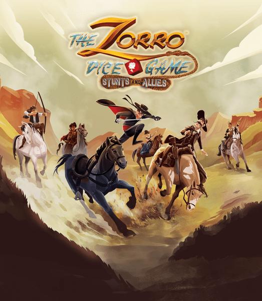 The Zorro Dice Game: Stunts and Allies