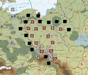 The German invasion of Poland.  The Germans went for an encirclement around the flanks of Poland.  Unfortunately since supply cannot be traced through Hungary, the southern spearhead was out of supply. (Vassal)