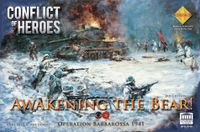Board Game: Conflict of Heroes: Awakening the Bear – Operation Barbarossa 1941 (Third Edition)