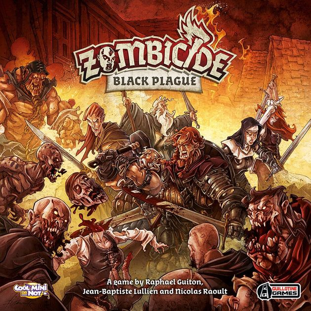 Dungeon Crawler: Zombicide Black Plague + Wulfsburg