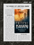 RPG Item: The World of Critical Dawn