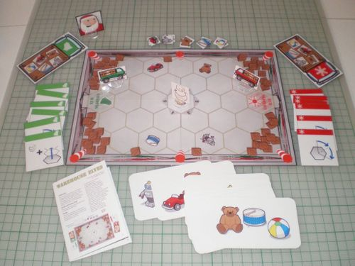 Board Game: Warehouse Elves