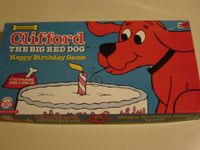 Board Game: Clifford the Big Red Dog Happy Birthday Game