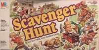 Board Game: Scavenger Hunt