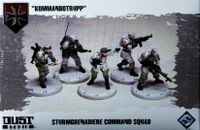 "Board Game: Dust Tactics: Sturmgrenadiere Command Squad – ""Kommandotrupp"""