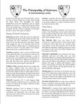 RPG Item: APG01: The Principality of Kedmere & Surrounding Lands