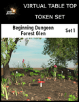 RPG Item: Virtual Table Top Token Set: Beginning Dungeon Forest Glen Set 1