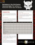RPG Item: Battlelords of the 23rd Century Conversion Guide