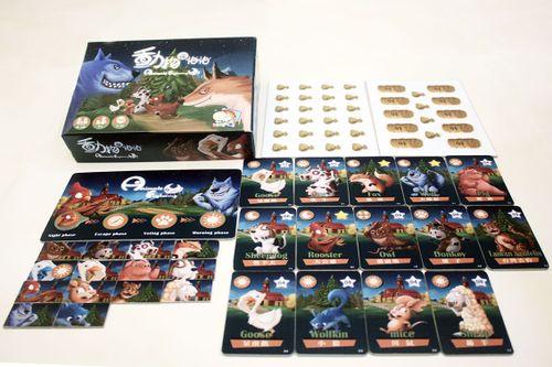 Board Game: Animals Frightening Night!