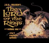 Video Game: J.R.R. Tolkien's The Lord of the Rings, Vol. I (SNES)