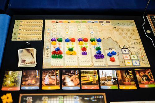 Board Game: East Indiaman