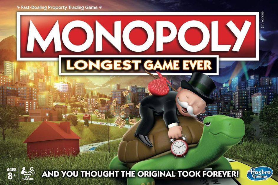 Monopoly: Longest Game Ever   Board Game   BoardGameGeek