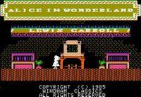 Video Game: Alice in Wonderland (1985)