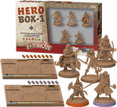 Board Game: Zombicide: Black Plague – Hero Box 1