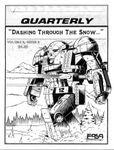 Issue: MechForce Quarterly (Volume 3, Issue 3 - 1997)