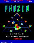 Video Game: Phozon