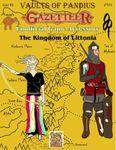 RPG Item: Gaz F06: The Kingdom of Littonia