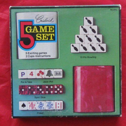 Board Game: Crisloid 5 Game Set