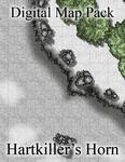 RPG Item: Digital Map Pack: Hartkiller's Horn