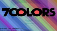 Video Game: 7 Colors