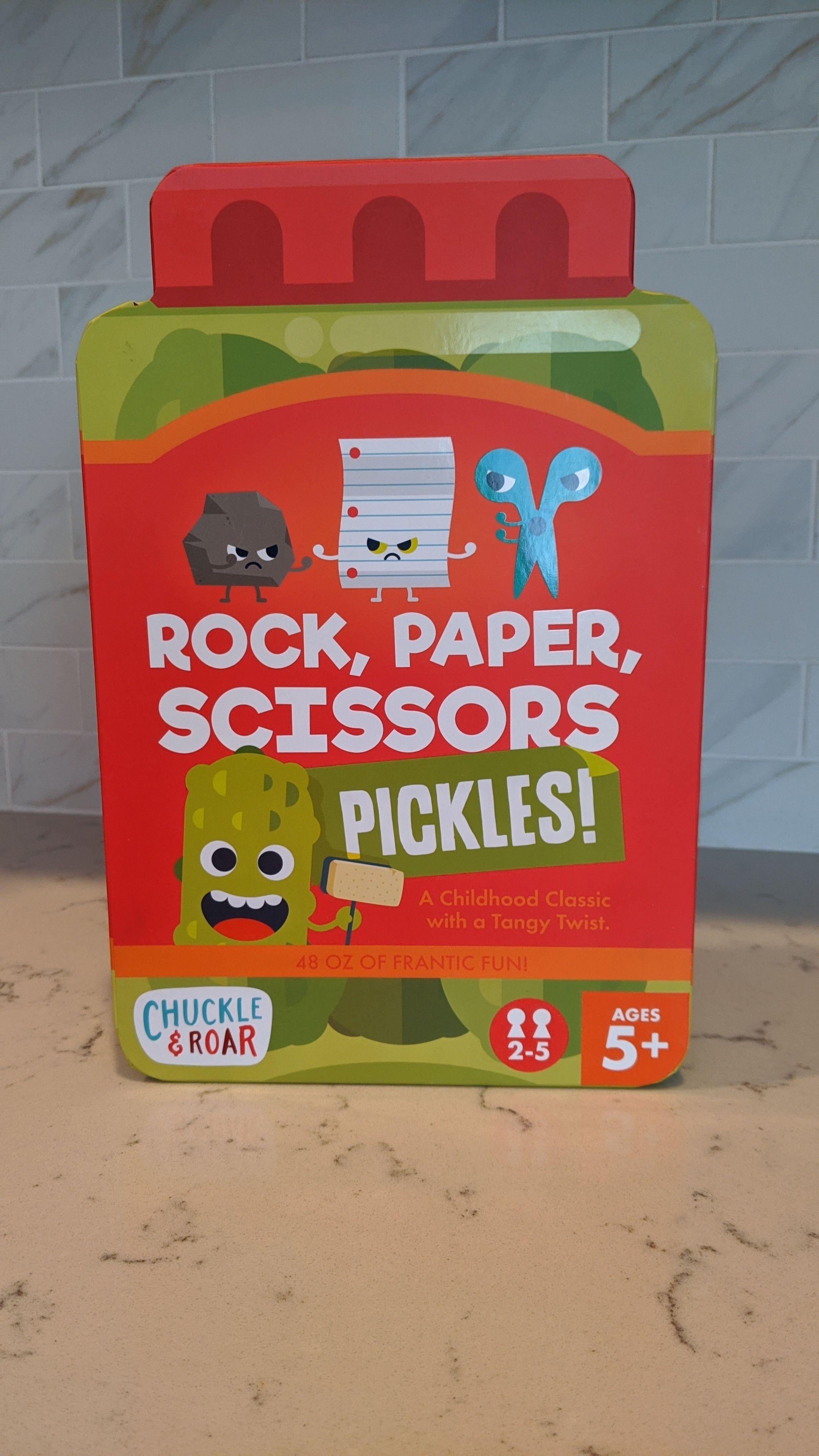 Rock, Paper, Scissors, Pickles