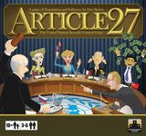 Board Game: Article 27: The UN Security Council Game