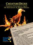 RPG Item: Creature Decks: 54 Aberrations & Magical Beasts (Generic)