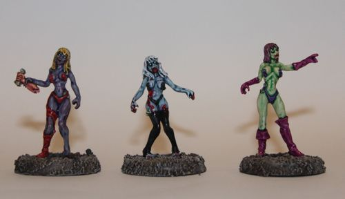 Board Game: Zed or Alive: The Zombie Miniatures Game