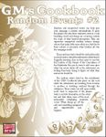 RPG Item: GM's Cookbook: Random Events #2