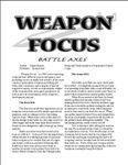 RPG Item: Weapon Focus: Battle Axes