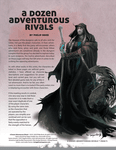RPG Item: A Dozen Adventurous Rivals