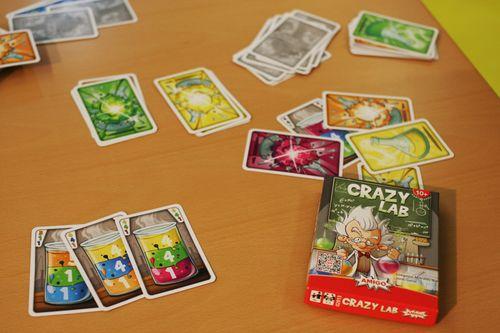 Board Game: Crazy Lab