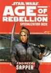 RPG Item: Age of Rebellion Specialization Deck: Engineer Sapper