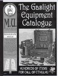 RPG Item: The Gaslight Equipment Catalogue