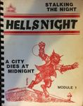 RPG Item: Hellsnight: A City Dies at Midnight: Stalking the Night Module 1