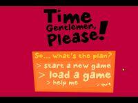 Video Game: Time Gentlemen, Please!
