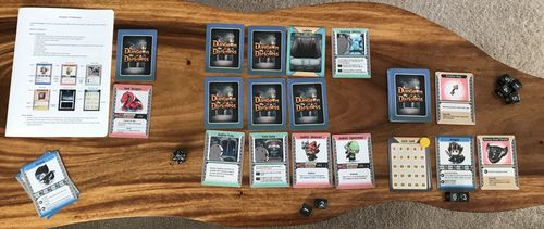Board Game: Dungeon of Darkness