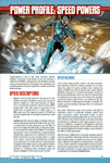 RPG Item: Power Profile #09: Speed Powers