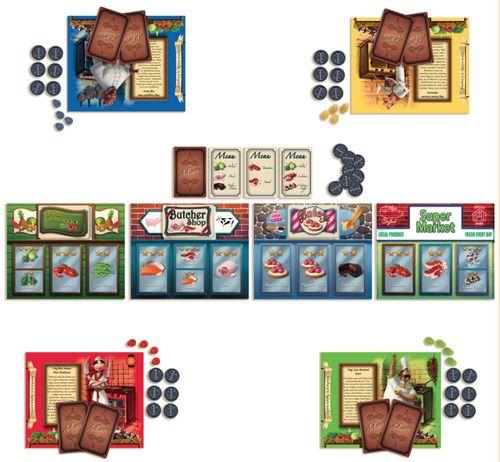 Board Game: Menu Masters
