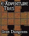 RPG Item: e-Adventure Tiles: Iron Dungeons
