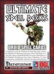 RPG Item: Ultimate Spell Decks: Druid Spell Cards