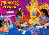 Board Game: Princess of Power Game