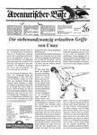 Issue: Aventurischer Bote (Issue 26 - 1990)