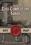 RPG Item: Lost Tomb of the Sands - Day Map