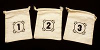 Board Game Accessory: Great Western Trail: Drawstring Bags