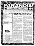 """Issue: Paranoia """"At Your Service Citizen..."""" (Volume 1, Issue 4 - Spingcycle 1993)"""