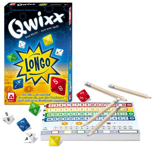 Board Game: Qwixx Longo